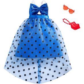 Barbie Fashions Multicolored Stripe Dress Mattel FCT16